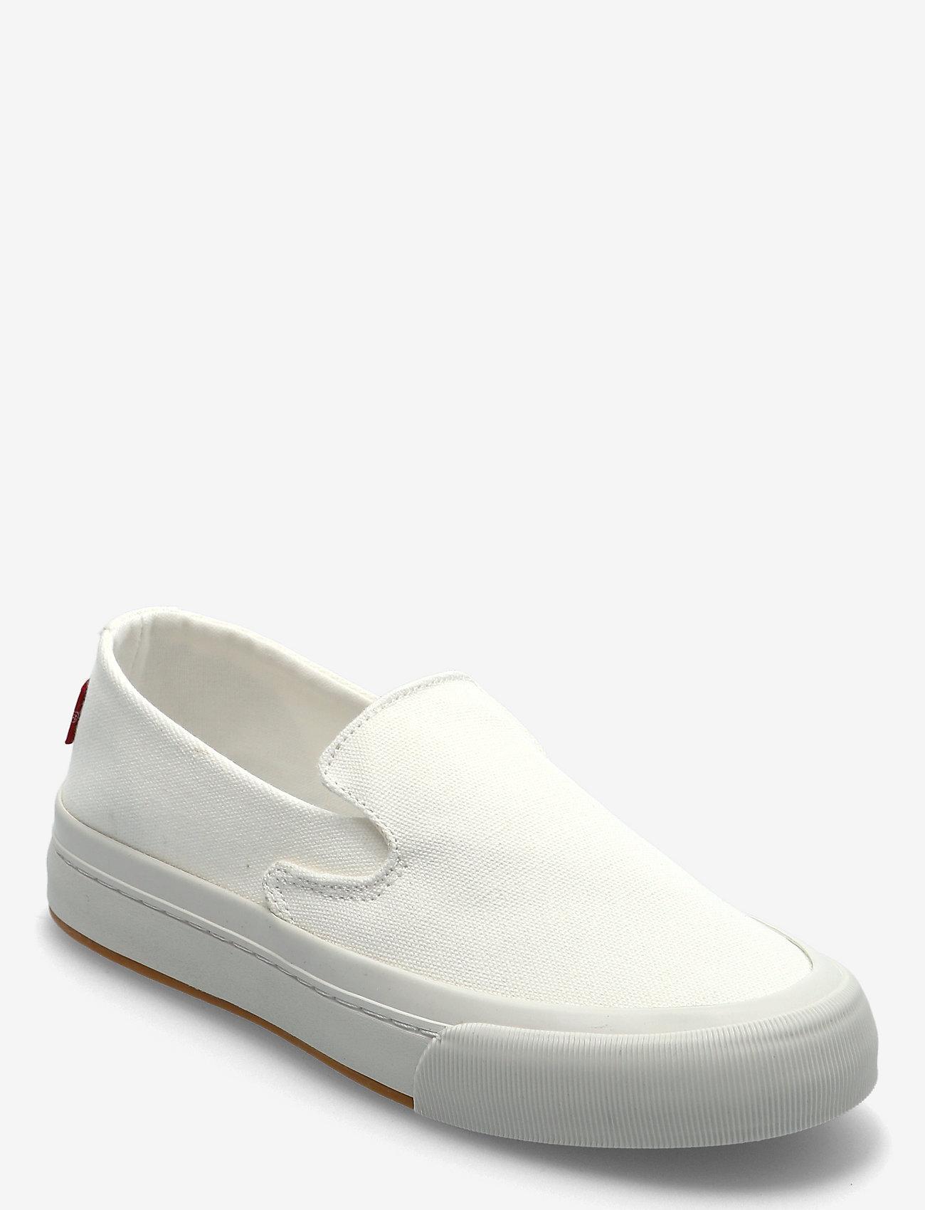 Levi's Shoes - SUMMIT SLIP ON S - slip-on sneakers - regular white - 0