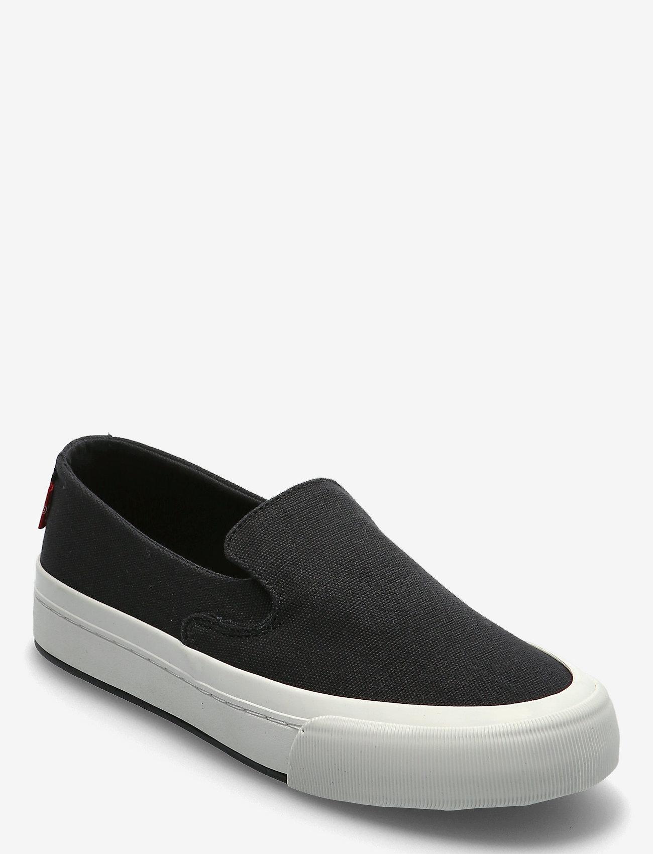 Levi's Shoes - SUMMIT SLIP ON S - slip-on sneakers - regular black - 0