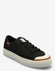 Levi's Shoes - SQUARE LOW S - lave sneakers - regular black - 0