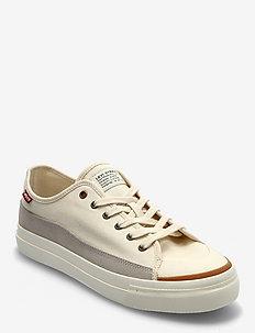 SQUARE LOW - låga sneakers - ecru