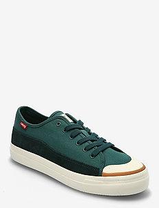 SQUARE LOW - låga sneakers - regular green
