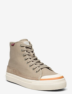 SQUARE HIGH - hoher schnitt - taupe