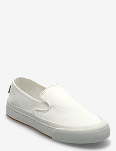SUMMIT SLIP ON S - slip-on sneakers - regular white