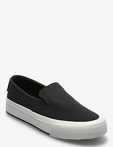 SUMMIT SLIP ON S - slip-on sneakers - regular black