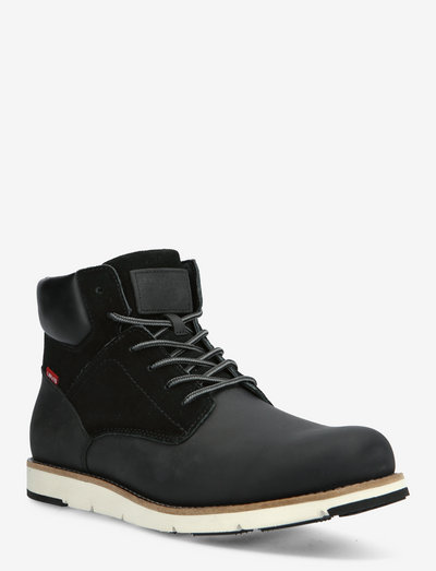 JAX PLUS - veter schoenen - regular black