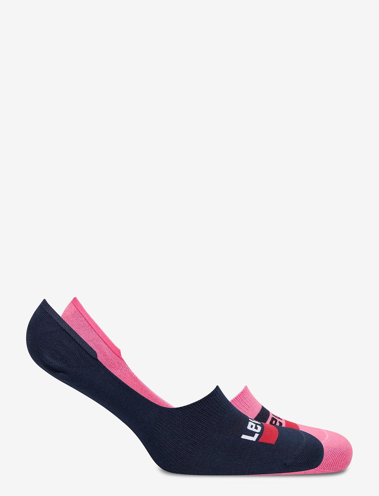Levi´s - LEVIS LOW RISE SPORTWR LOGO 2P - footies - pink combo - 1