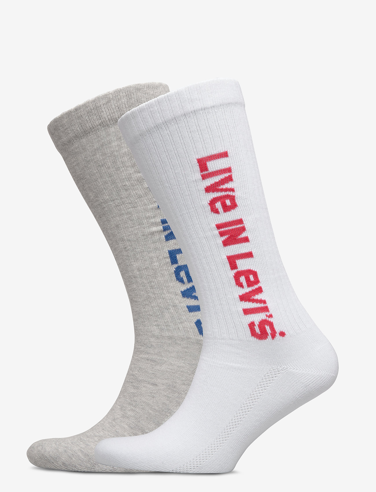 Levi´s - LEVIS VINTAGE CUT SPRT SOCK UNISEX - sokker - grey / grey - 0