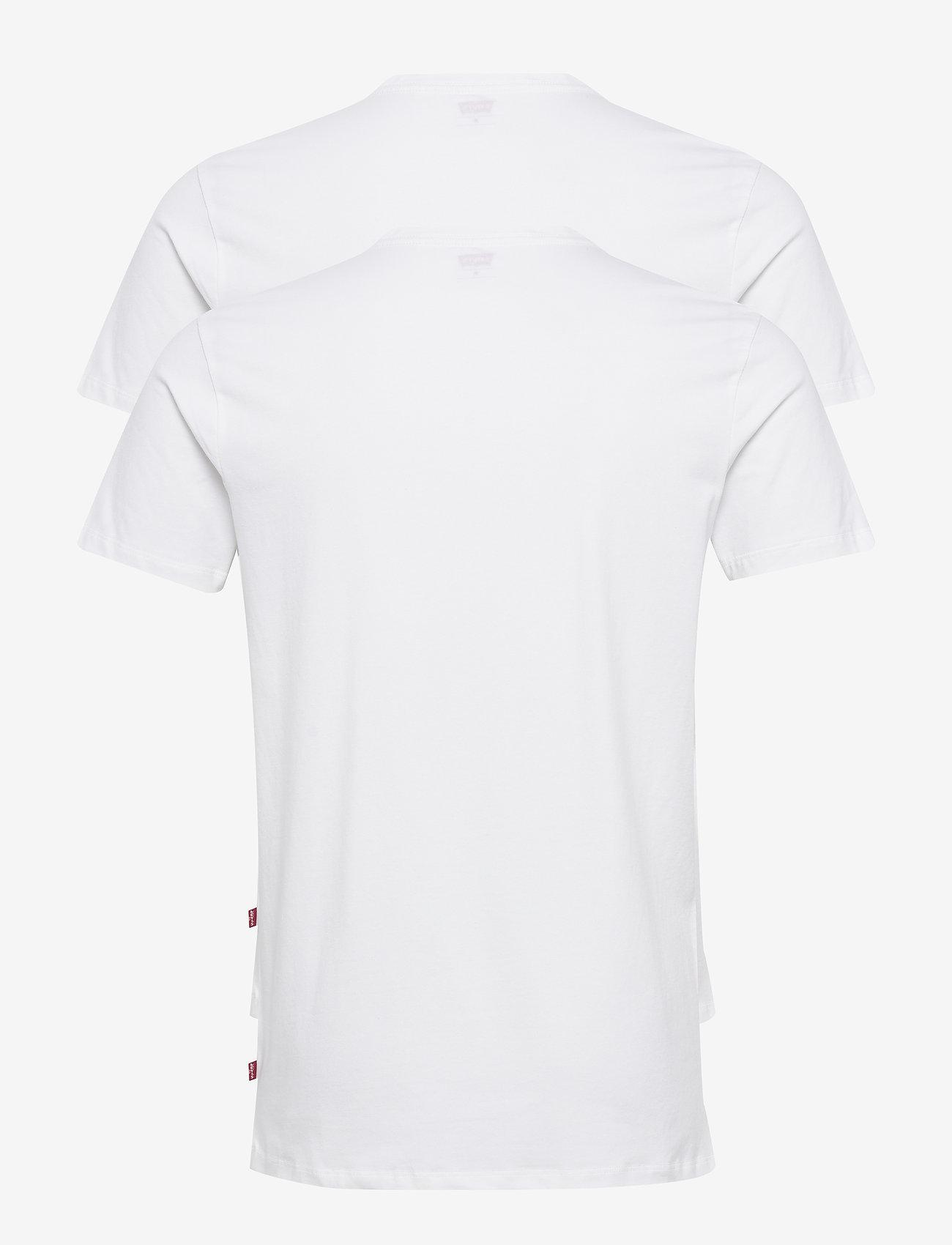 Levi´s - LEVIS MEN SOLID CREW 2P - multipack - white - 1