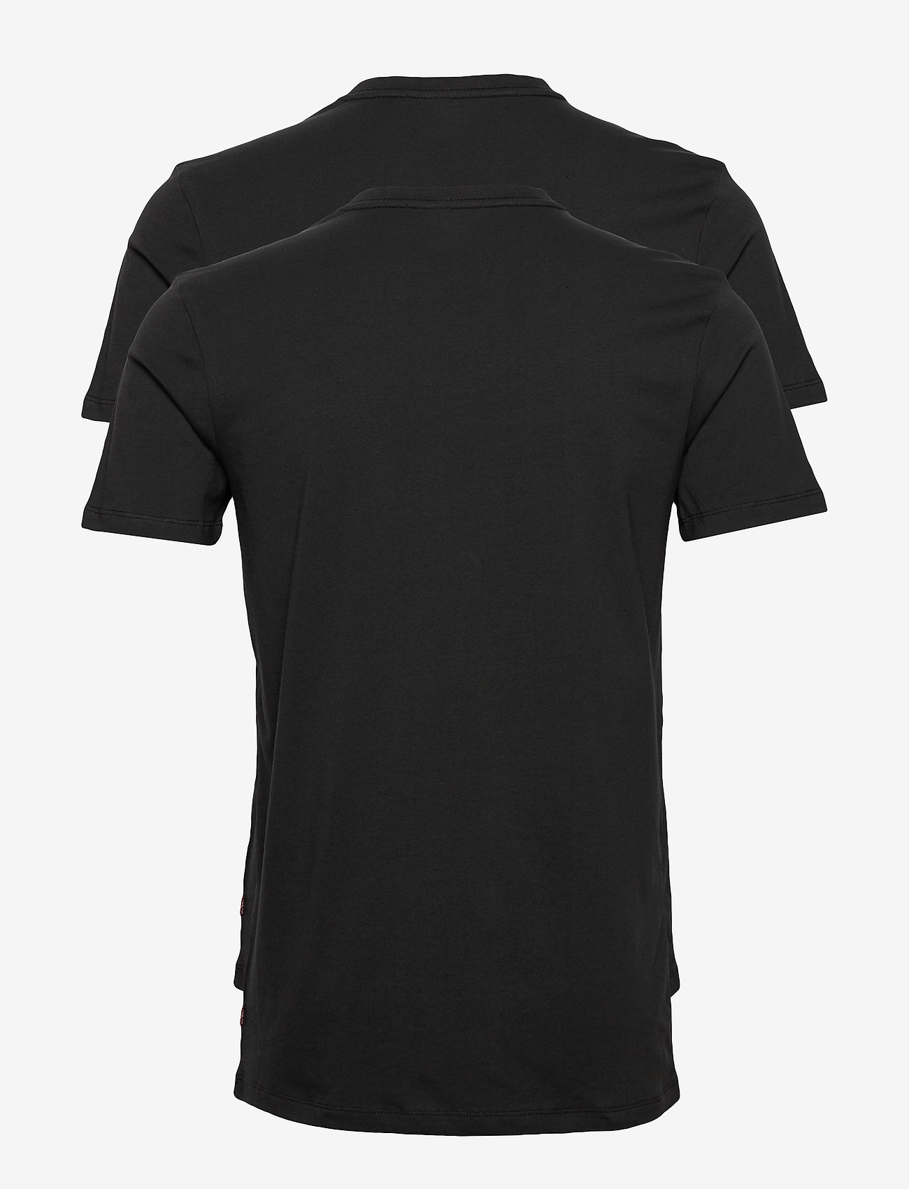 Levi´s - LEVIS MEN V-NECK 2P - multipack - jet black - 1