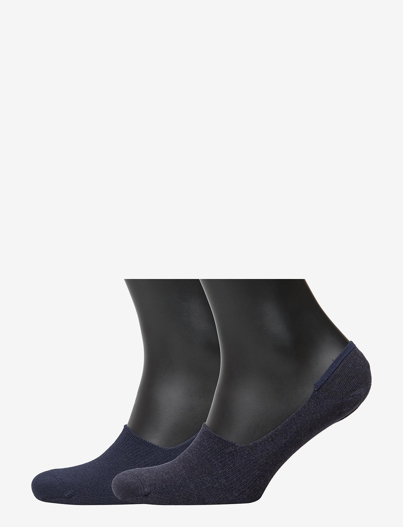 Levi´s - LEVIS 168SF LOW RISE 2P - ankle socks - navy - 0