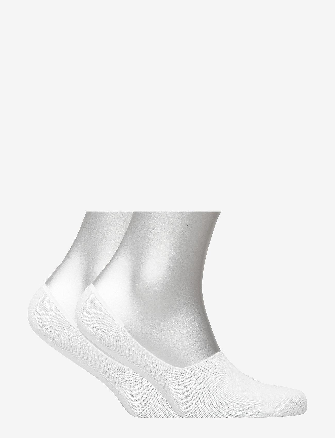 Levi´s - LEVIS 168SF LOW RISE 2P - skarpety za kostkę - white - 1