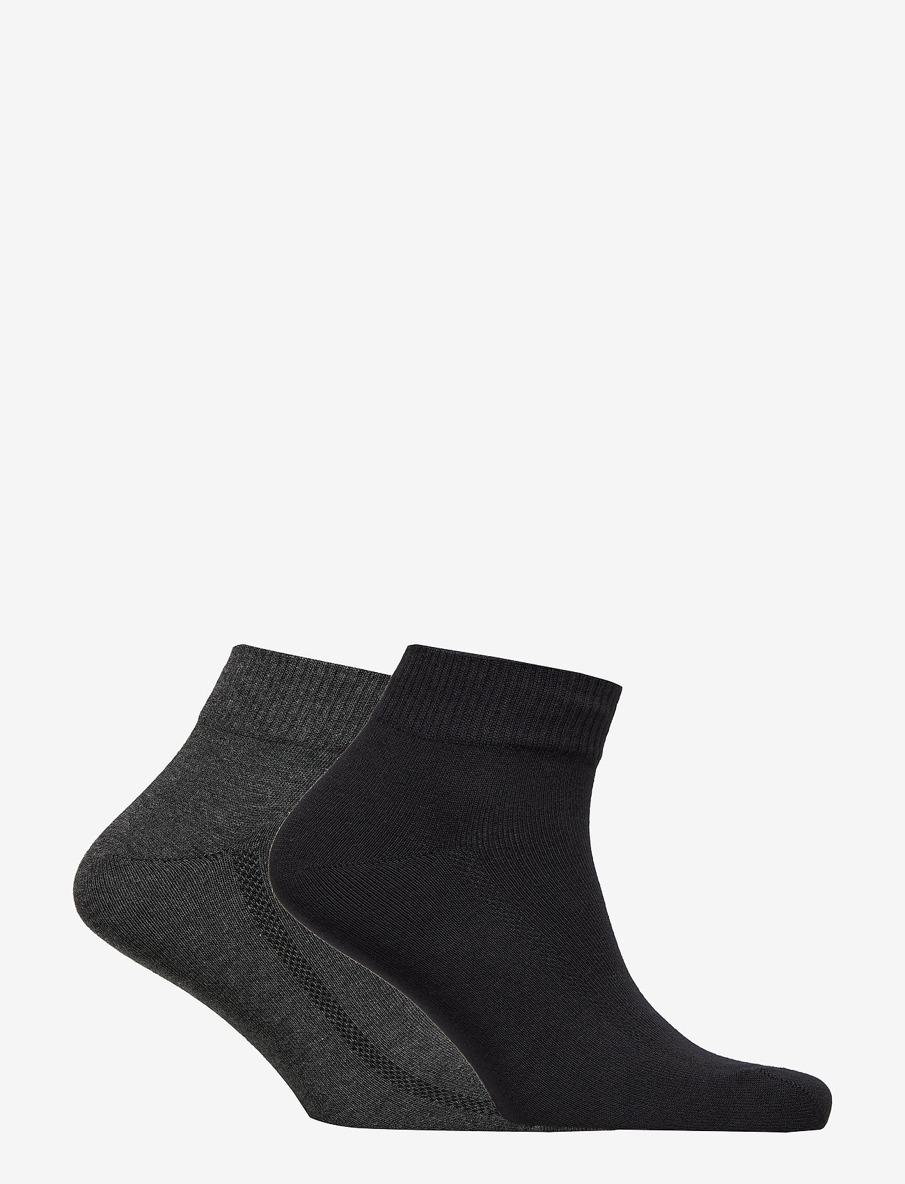 Levi´s - LEVIS 168SF MID CUT 2P - regular socks - anthracite melange / black - 1