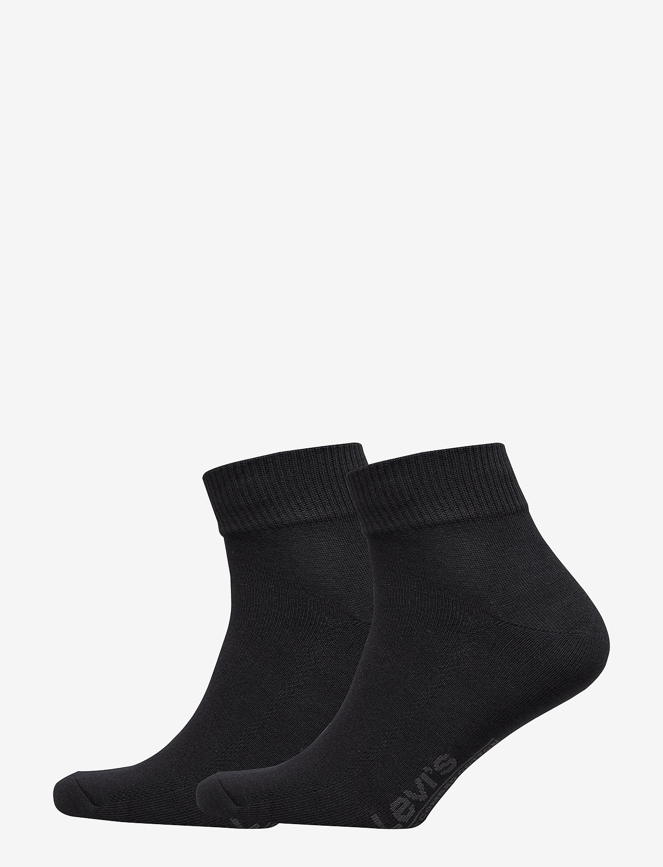 Levi´s - LEVIS 168SF MID CUT 2P - regular socks - jet black - 0