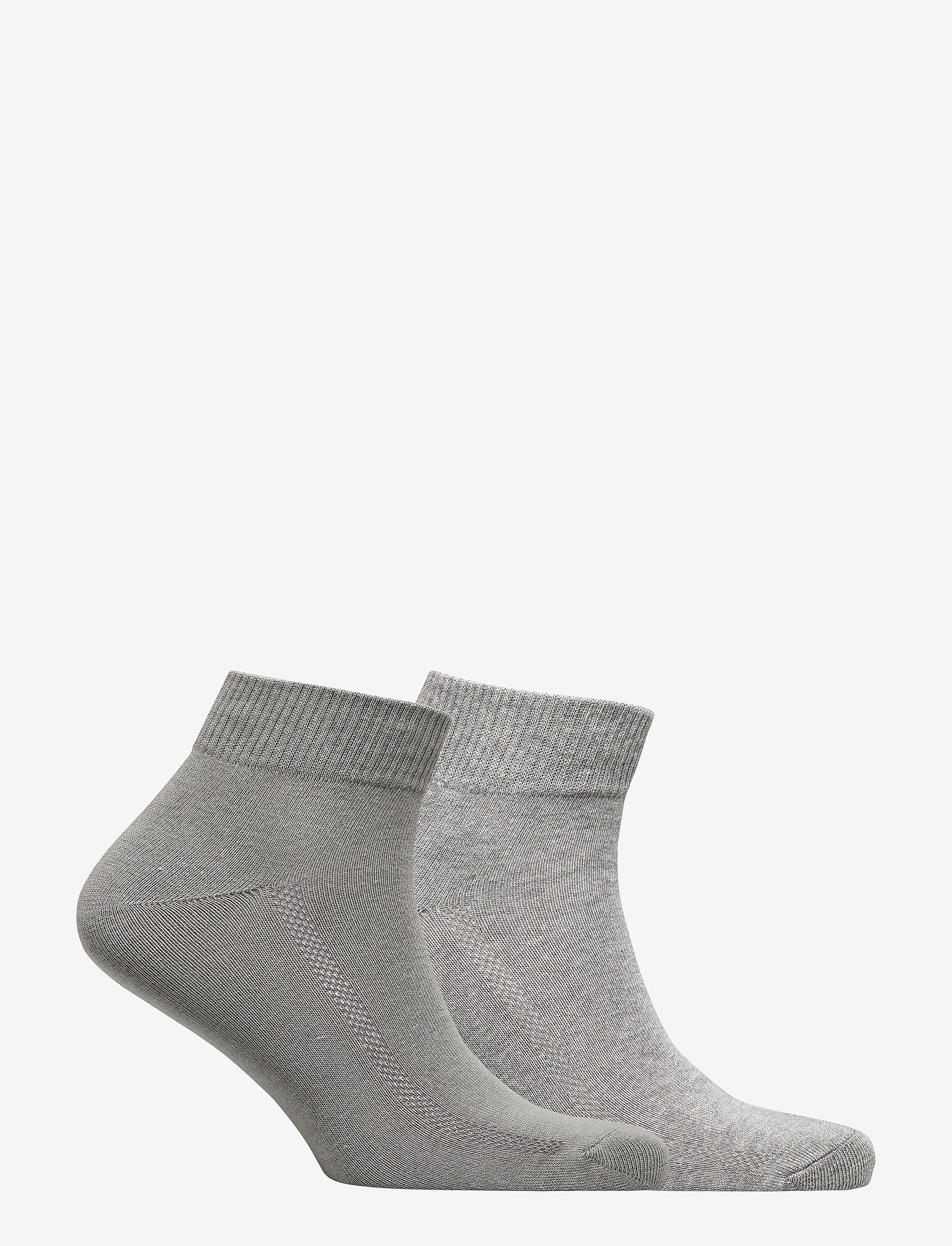 Levi´s - LEVIS 168SF MID CUT 2P - regular socks - middle grey melange - 1