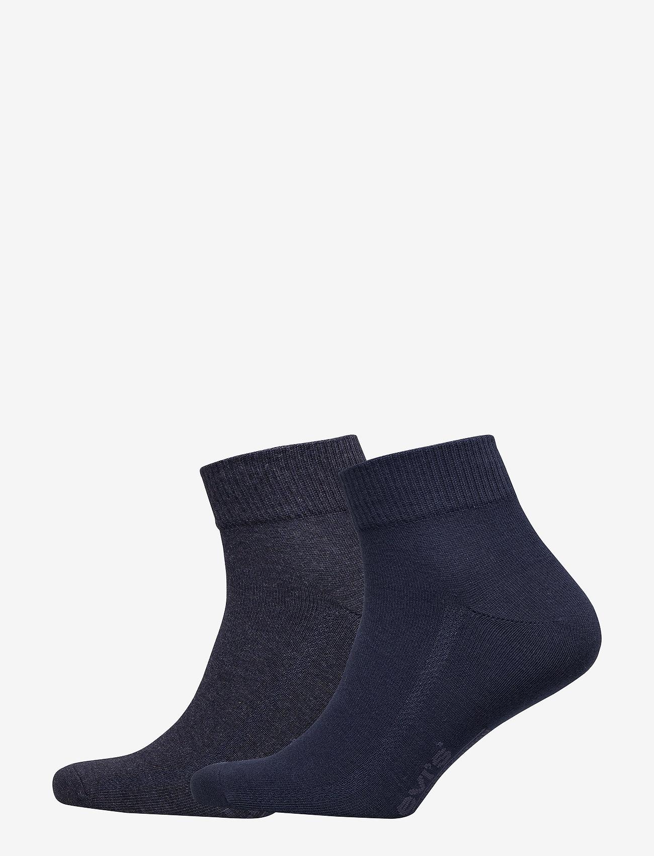 Levi´s - LEVIS 168SF MID CUT 2P - regular socks - navy - 0
