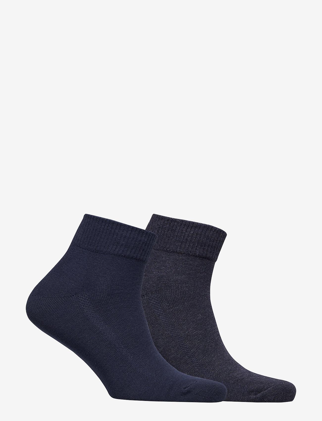 Levi´s - LEVIS 168SF MID CUT 2P - regular socks - navy - 1