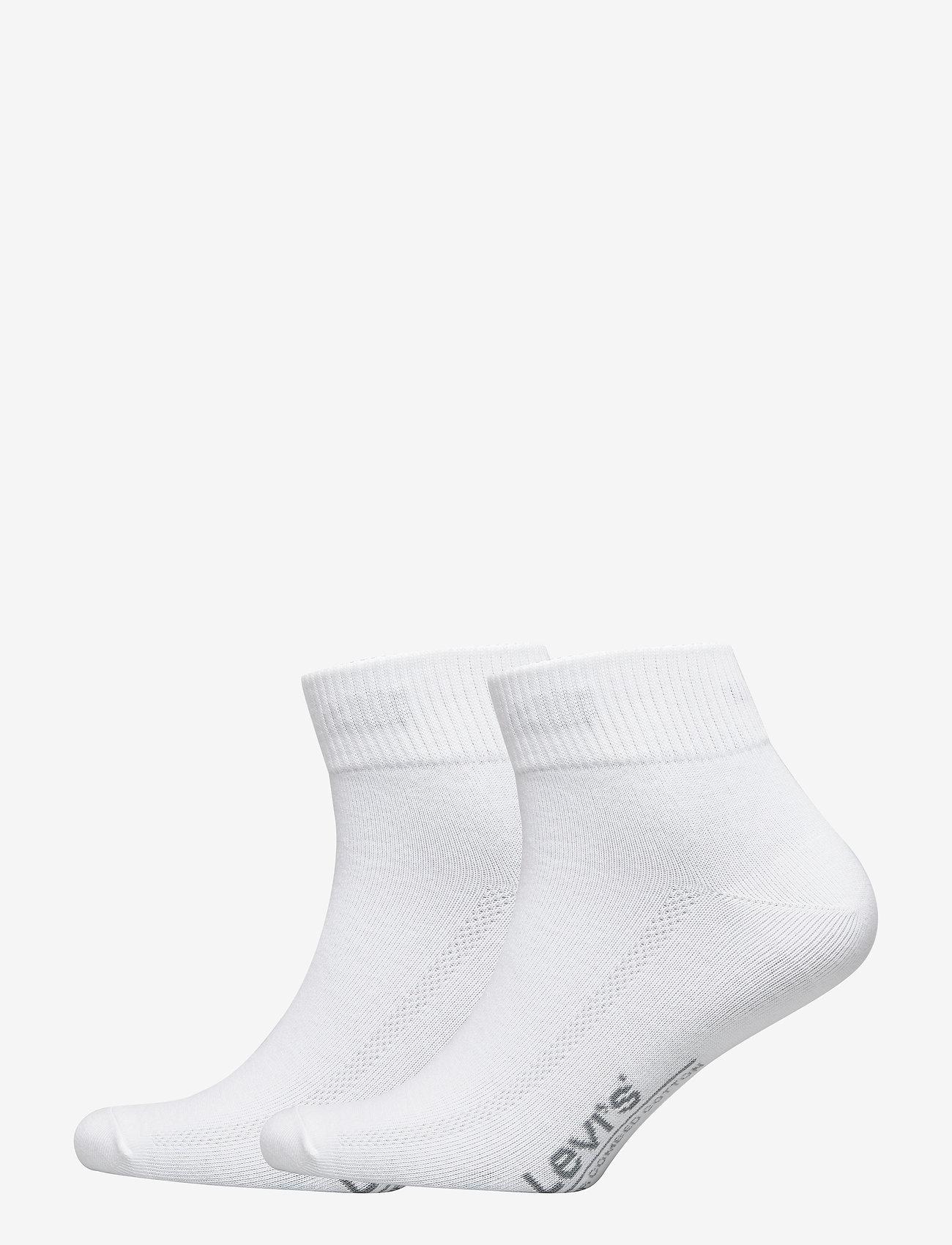 Levi´s - LEVIS 168SF MID CUT 2P - regular socks - white - 0
