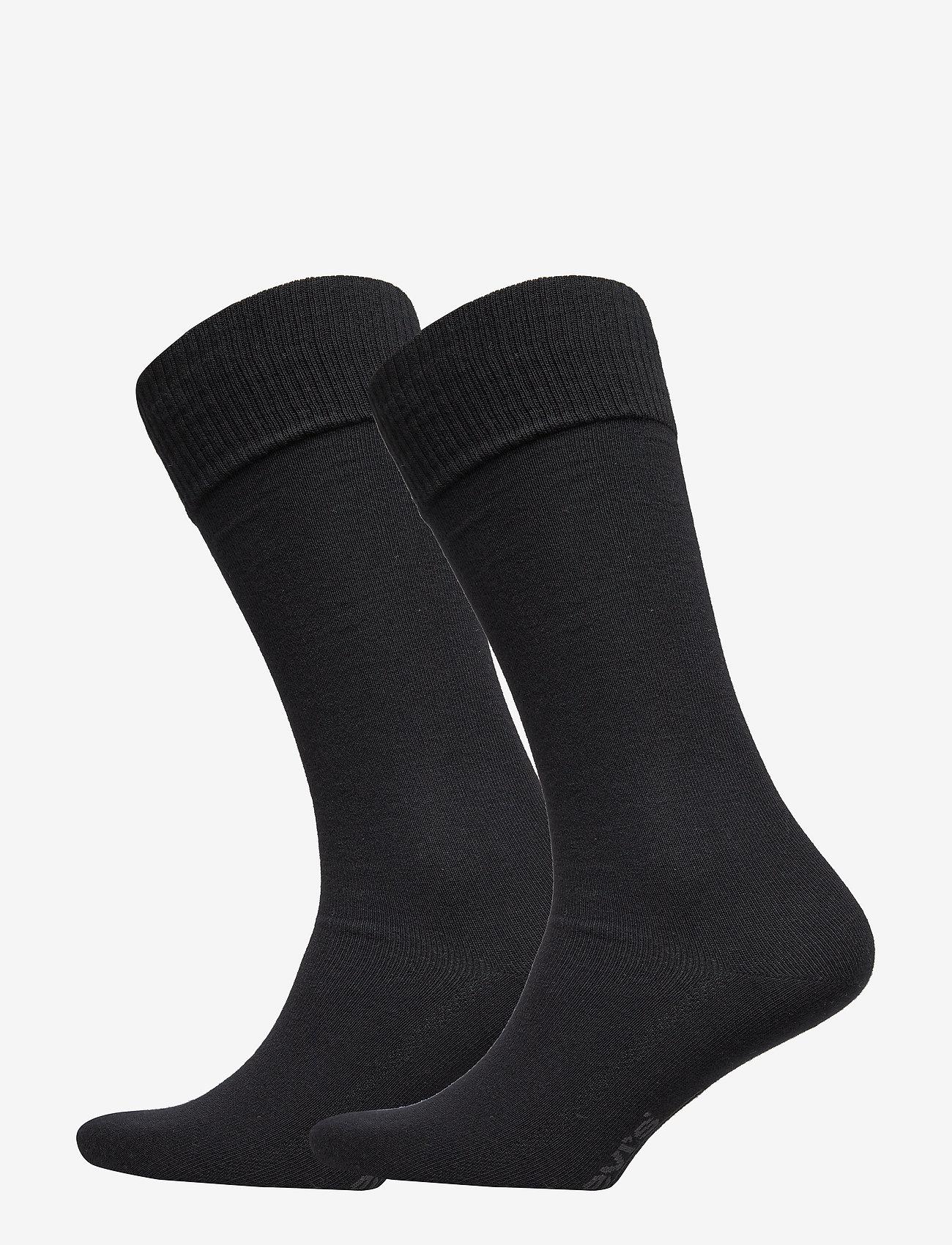 Levi´s - LEVIS 168SF VINTAGE CUT 2P - chaussettes régulières - jet black - 0