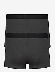 Levi´s - LEVIS MEN SOLID BASIC TRUNK 2P - boxers - anthracite melange - 2
