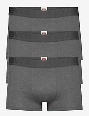 Levi´s - LEVIS MEN PREMIUM TRUNK 3P - boxershorts - grey melange - 0
