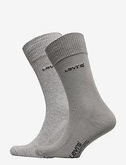 Levi´s - LEVIS 168SF REGULAR CUT 2P - regular socks - middle grey melange - 0