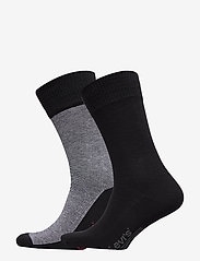 Levi´s - LEVIS 168SF REGULAR CUT MICRO STRIP - regular socks - jet black - 0