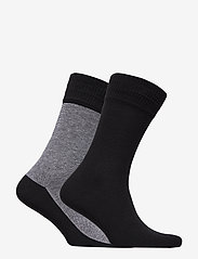 Levi´s - LEVIS 168SF REGULAR CUT MICRO STRIP - regular socks - jet black - 1
