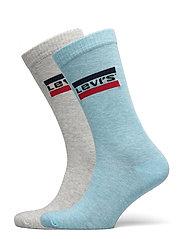 LEVIS 168NDL REGULAR CUT SPRTWR LOG - BLUE / GREY MELANGE