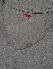 Levi´s - LEVIS MEN V-NECK 2P - multipack - middle grey melange - 2