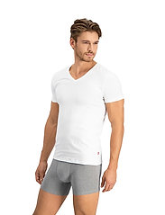 Levi´s - LEVIS MEN V-NECK 2P - basic t-shirts - white - 3