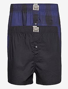 LEVIS MEN PREMIUM BUFFALO CHECK WOV - chinos shorts - blue