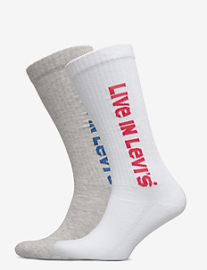 LEVIS VINTAGE CUT SPRT SOCK UNISEX - regular socks - grey / grey
