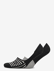 LEVIS MEN LOW RISE STRIPE BLOCKS 2P - ankelsokker - black / grey