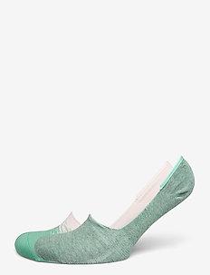 LEVIS LOW RISE COLOR DIP 2P - ankle socks - pink combo