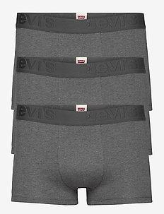 LEVIS MEN PREMIUM TRUNK 3P - boxers - grey melange