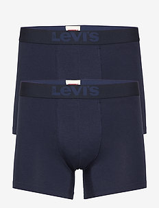 LEVI'S 200SF BOXER BRIEF 2P - bielizna - mid denim