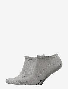 LEVIS 168SF LOW CUT 2P - gewone sokken - middle grey melange