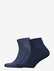 LEVIS 168SF MID CUT 2P - regular socks - denim blue