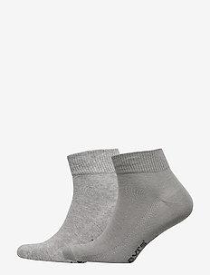 LEVIS 168SF MID CUT 2P - regular socks - middle grey melange