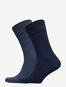 LEVIS 168SF REGULAR CUT 2P - regular socks - denim blue