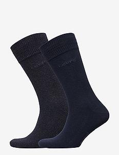 LEVIS 168SF REGULAR CUT 2P - chaussettes régulières - navy