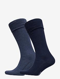 LEVIS 168SF VINTAGE CUT 2P - regular socks - denim blue