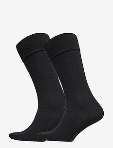 LEVIS 168SF VINTAGE CUT 2P - regular socks - jet black