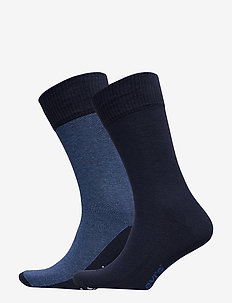 LEVIS 168SF REGULAR CUT MICRO STRIP - regular socks - blue depths