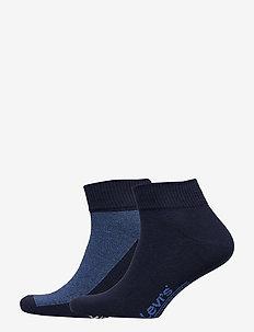 LEVIS 168SF MID CUT MICRO STRIPE 2P - sokker - blue depths