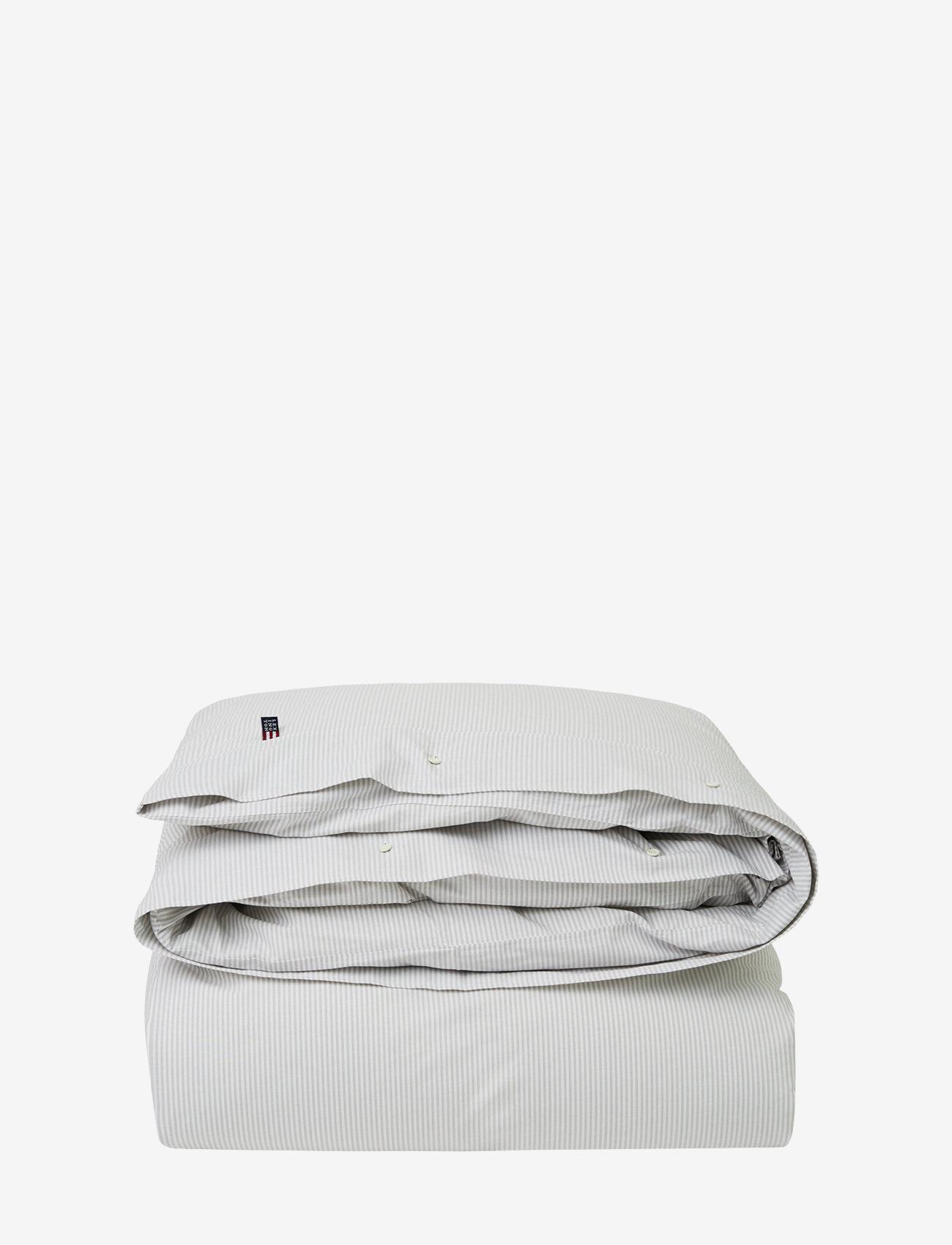 Lexington Home - Pin Point Beige/White Duvet - housses de couette - beige/white - 0