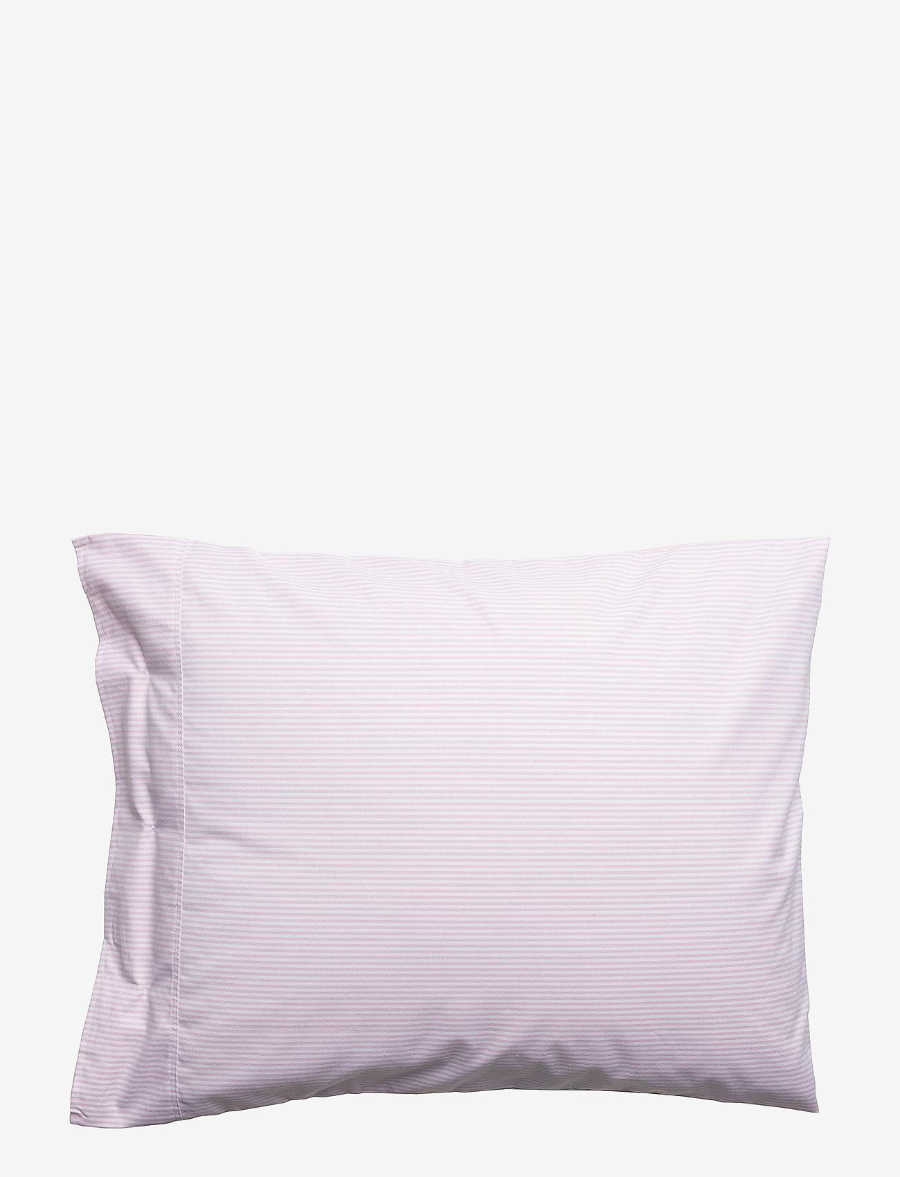 Lexington Home - Pin Point Pink/White Pillowcase - taie d'oreiller - pink/white - 1