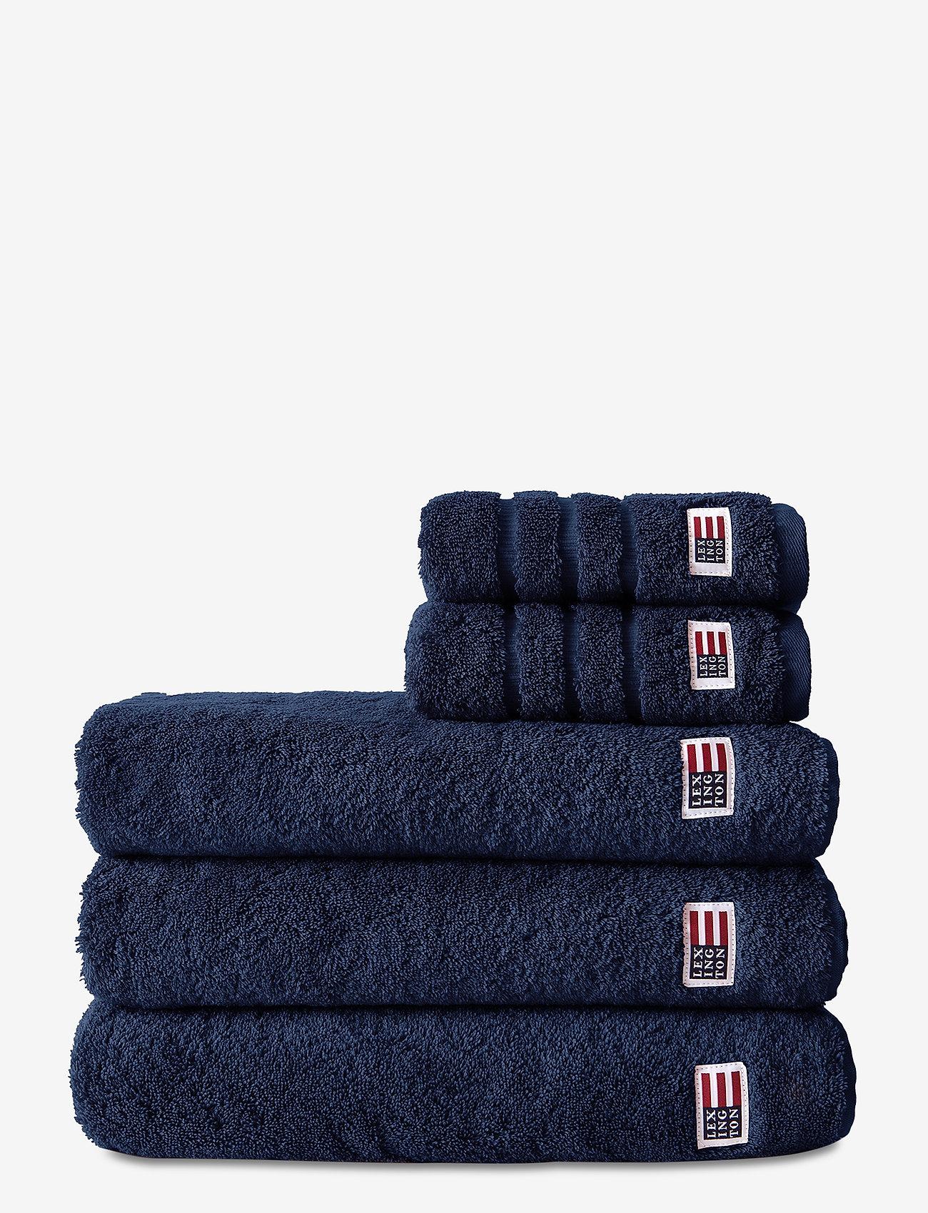 Lexington Home - Original Towel Navy - ręczniki kąpielowe - navy - 0