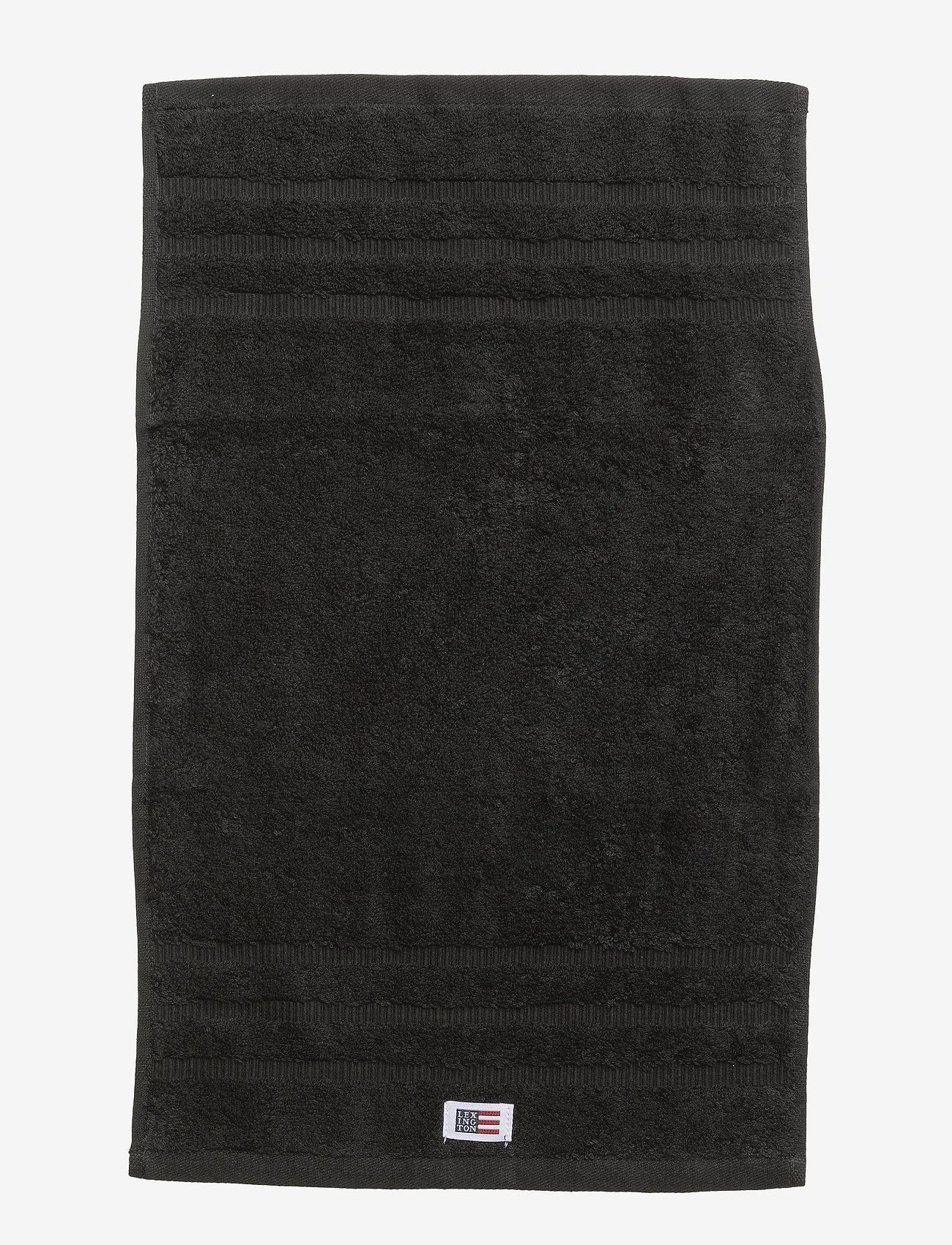 Lexington Home - Original Towel Black - towels - black - 1