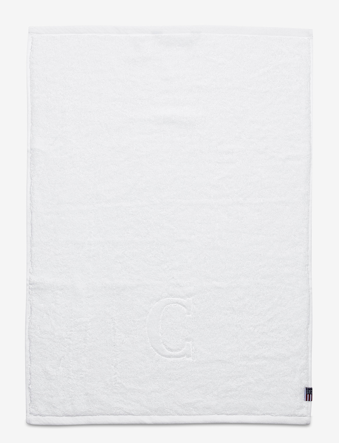 Lexington Home - Monogram Towel Letter C - towels - white - 0